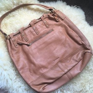 Lucky Brand Bags - NEW Genuine Leather Large Drawstring Hobo Bucket
